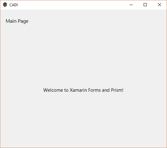 Using Prism With Xamarin Forms & GTK -- Duane Newman