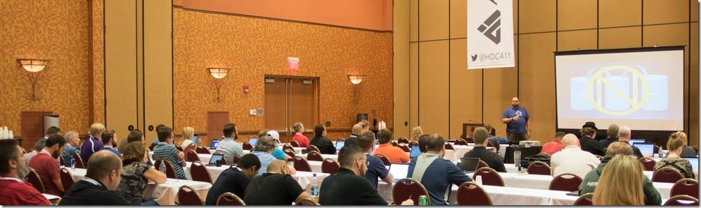 Duane presenting at HDC15